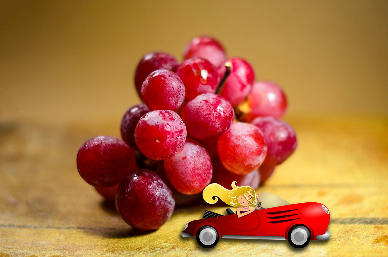 Виноград Рубиновый римский
