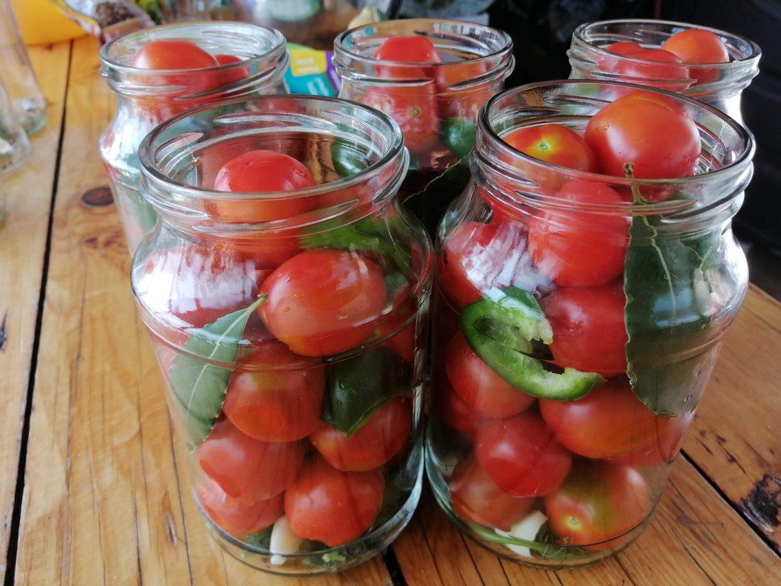 Рецепт консервированных томатов