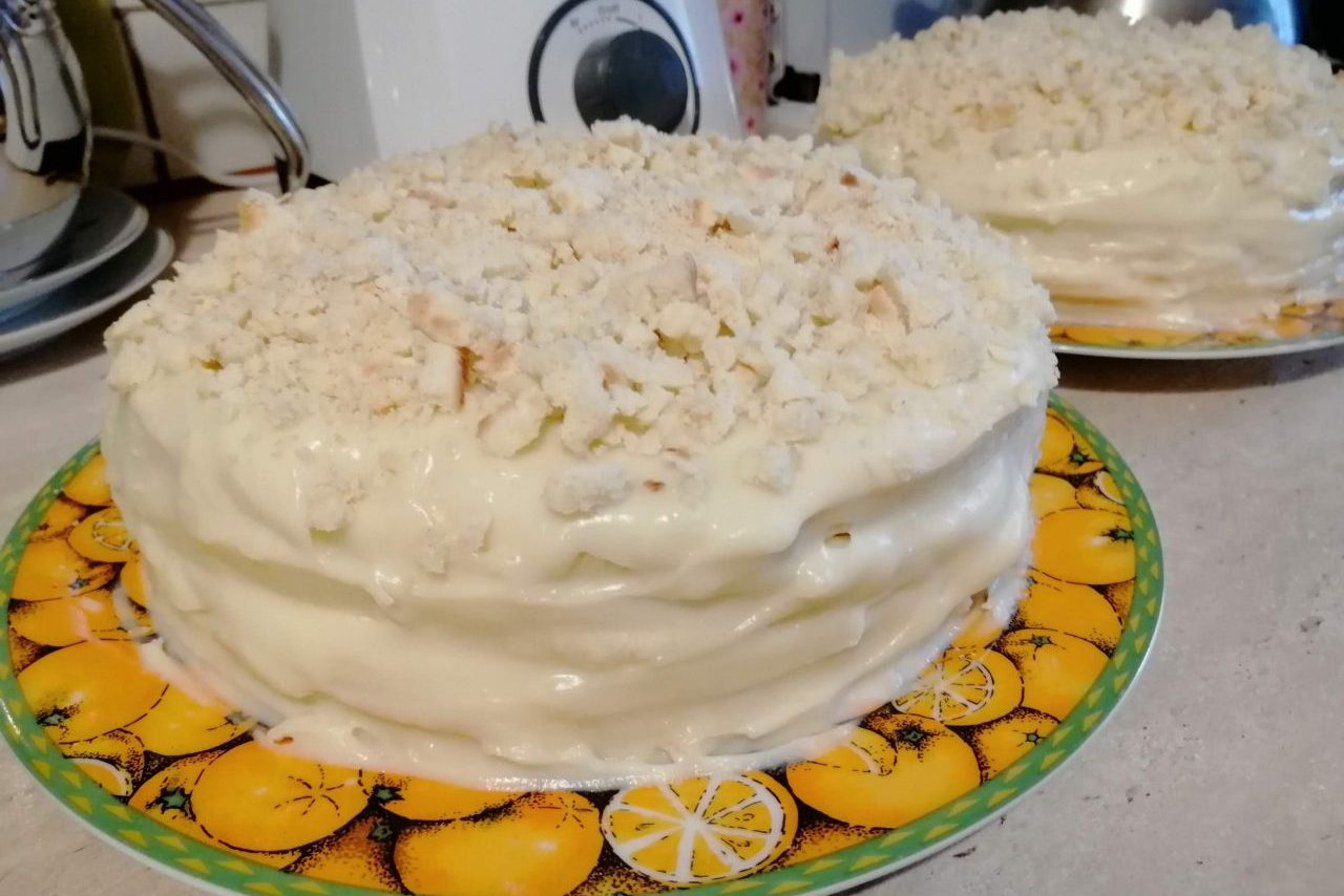 2 торта из 5 яиц