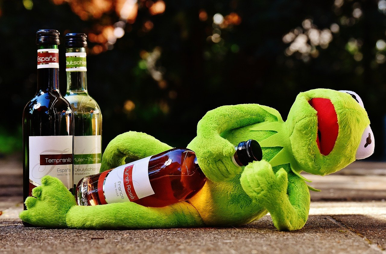 Алкоголь и старение кожи