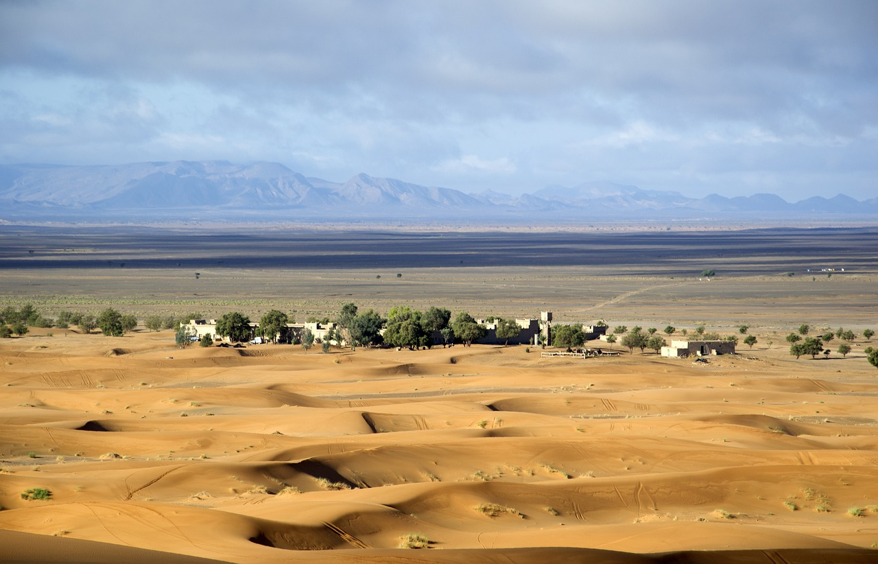 Марокко.Пустыня