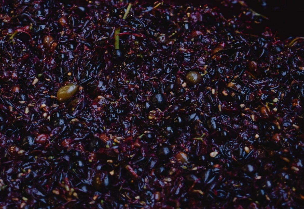 Виноградный жмых